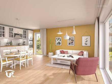 3-Zimmerwohnung mit Garten und Terrasse