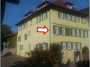 Exklusive, sanierte 2-Zimmer-Wohnung in Bietigheim-Fußgängerzone in antikem Stadthaus