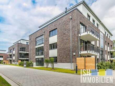 Stade-Campe: Erstbezug - 3,5-Zimmer-Wohnung mit großem Balkon