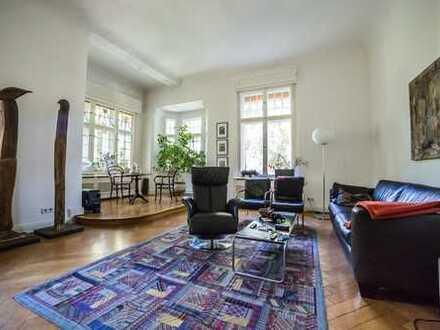 Kapitalanleger aufgepasst: Verkauf mit Wohnrecht, Luxus-Altbauwohnung in Berlin-Nikolassee