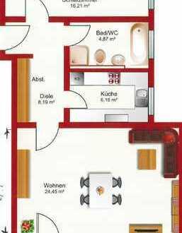 Gepflegte 2-Zimmer-Wohnung mit Balkon und EBK in Marktoberdorf