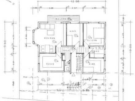 Gepflegte 4 Zimmer-Wohnung mit Balkon