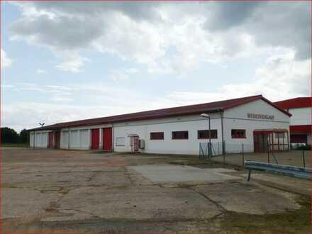 Lagerhalle inkl. Kühlhalle und Verkaufsfläche in Möhra