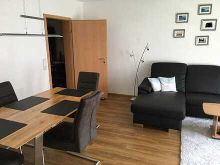 Neuwertige 3-Zimmer-Wohnung mit Balkon und Einbauküche in Nördlingen