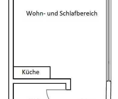 Gepflegte 1-Zimmer-Wohnung mit EBK in Veringenstadt