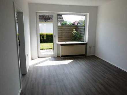 **Ihre neue Wohnung frisch saniert ! Mit Garten und einer Terrasse im Erdgeschoss !**