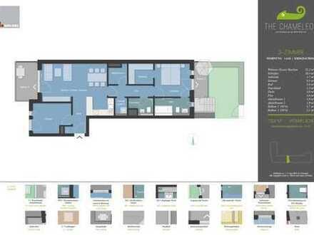 Neubau 3 Zimmerwohnung mit Garten und EBK