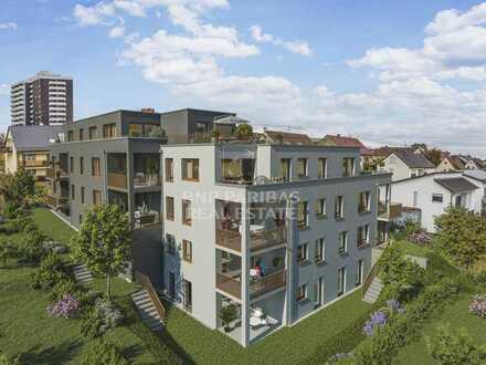 Energieeffizientes Wohnbauprojekt nach KfW 55