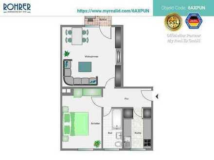 München-Untergiesing - 2 Zimmerwhg., Küche, Bad/WC, Flur, Balkon und Kellerabteil