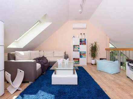 Maisonette-5 Zimmer-Topwohnung über Kitzingen