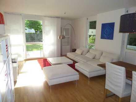 Traumhaft schöne 3 Zimmer Gartengeschoßwohnung mit 2 Bädern, Parkettboden und Fußbodenheizung