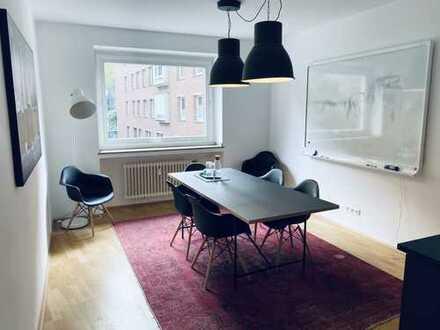32 qm Büroraum mit 6 Arbeitsplätzen direkt am Dom