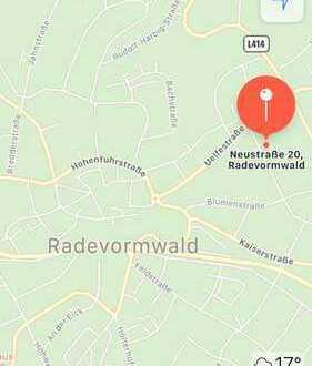 Bauland in der Neustraße in Radevormwald zu verkaufen