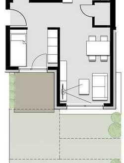 schöne Single Wohnung mit Garten