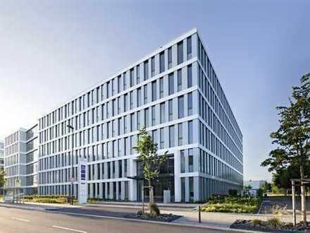 Letzte Freifläche in Bürohaus mit modernster Architektur in der AirportCity