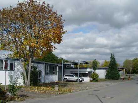 Werbe u. Verkehrsgünstig an B312 in Ausfahrt Riederich - Gewerbehallen mit Wohnhaus u. Garagen
