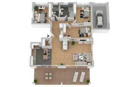 -NEUBAU- Exclusive 4-Zimmerwohnung + 200qm Garten