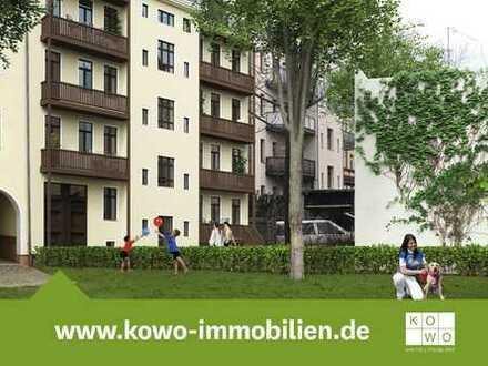Erstbezug nach Sanierung! Schöne 3-Zimmer-Wohnung mit Parkett und Terrasse!