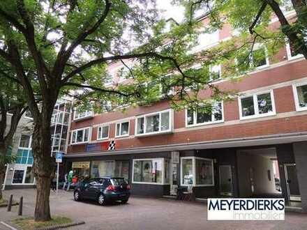 Innenstadt - Damm: Geräumige 3-Zimmer Wohnung mit Balkon in Innenstadtlage