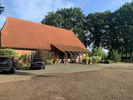 Stilvoller restaurierter Niedersachsenhof / Resthof im Landkreis Diepholz