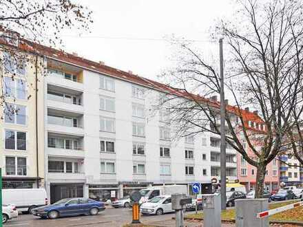 Von Privat: Modernisierte, günstig geschnittene 2-Zimmer-Wohnung in Maxvorstadt / Schwabing München