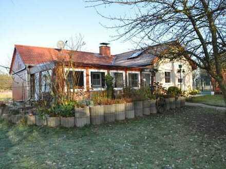 Einfamilienhaus mit arrondierter Fläche