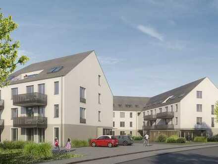 Perfekte 4-Zimmerwohnung mit Süd-Balkon und zwei Bädern im charmanten Neubau. Grünes Umfeld !!
