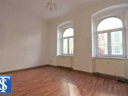 Bezugsfreie 2-Zimmer-ETW mit Dusche im EG in historischem Gebäude in Plauen (Westend)