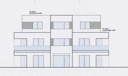 Nur noch 1 Exklusive 109 qm Neubau-Penthousewohnung - provisionsfrei ab Bauträger in Duisburg-Baerl