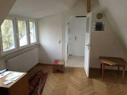 Sanierte DG-Wohnung für Singlehaushalt in Neuenheimer Jugendstilvilla