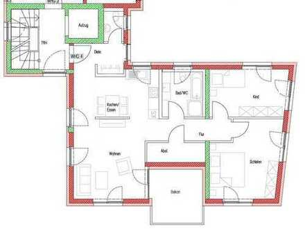 Erstbezug Neubau 3-Zimmerwohnung, Flein, Hardtstr. 3
