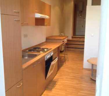 Möblierte 2-Zimmer-Wohnung mit Einbauküche in Stadtmitte (52 m²)