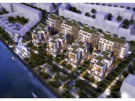 Wohntraum mit Hafenblick - Marina Gardens! Helle 3-Zimmer Wohnung mit Loggia