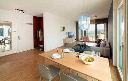 Vollmöbliertes Serviced Apartment mit 2 Zimmern auf dem Gelände der Bundesgartenschau mit Seeblick