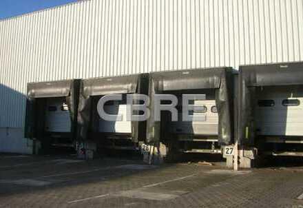 Lager- und Produktionshalle in direkter Nähe zur A57