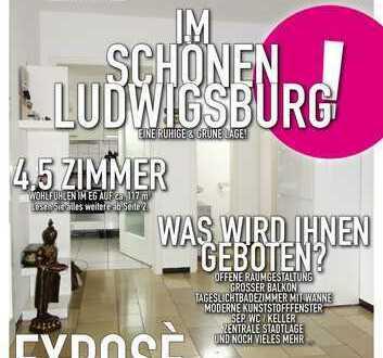 Schöne, gepflegte und helle 4,5 Zimmer Wohnung in ruhiger Lage in LB-Schlösslesfeld