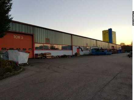 VORANKÜNDIGUNG - Produktions-/ Lagerhalle im Industriegebiet mit 5.700 qm zu vermieten