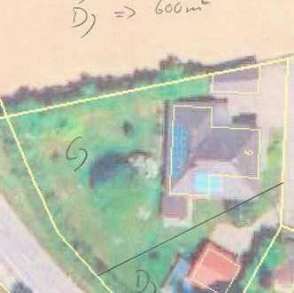 600 qm - Ortsrandlage - Wohnbaugrundstück D) für EFH