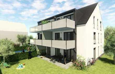 4-Zimmer EG-Wohnung mit Gartenanteil / KfW55 6-Familienhaus