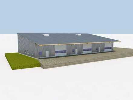 **Neubau einer Gewerbehalle - Lager - Produktion - Handwerk **