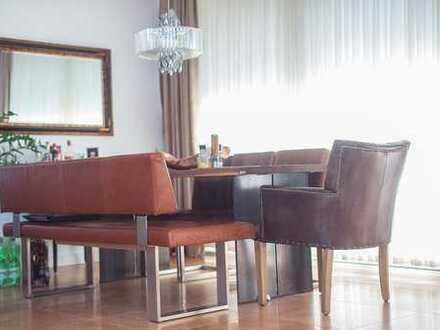 Hochwertige 3-Zimmer-Wohnung mit großer Terrasse und Blick ins Grüne