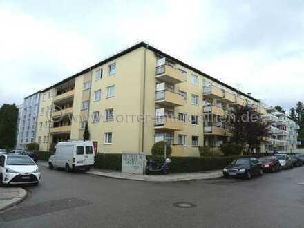Gepflegte u. helle 2-Zimmer-Eigentumswohnung (vermietet) in 80992 München (Moosach)