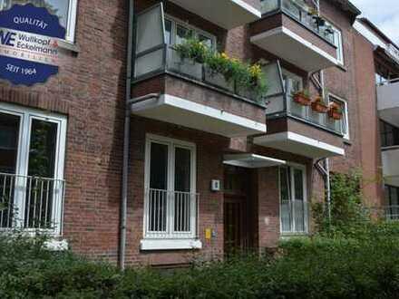 Im Herzen von Eimsbüttel: Vermietete 1-Zimmer-Wohnung!