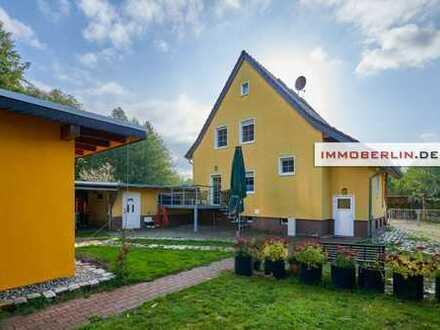 IMMOBERLIN: Exzellentes Einfamilienhaus auf großem Grundstück
