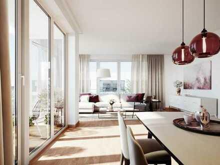 Zauberhafte 2-Zimmer-Wohnung auf ca. 60 m² Wohnfläche mit Loggia in begehrter Lage Berlins