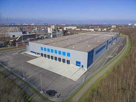 Provisionsfrei - Neubau Logistikhalle mit WHG-Boden und 12,20 m UKB - sofort bezugsfertig