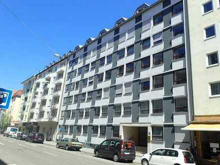 LEERSTEHENDE 3 Zi.-Wohnung inkl. EBK # BESTLAGE MAXVORSTADT # Top Grundriss