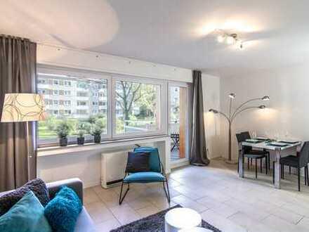 Große, helle Wohnung in geplegter Wohnanlage.