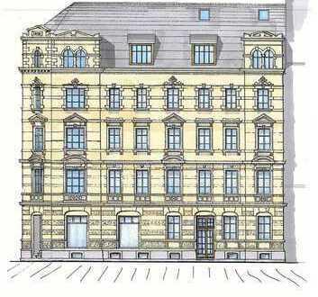 Großzügiges Mehrfamilienhaus mit vorliegender Planung