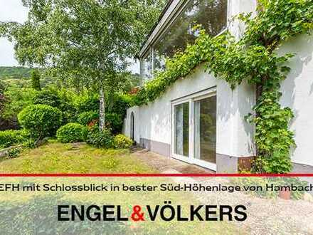 EFH mit Schlossblick in bester Süd-Höhenlage von Hambach!